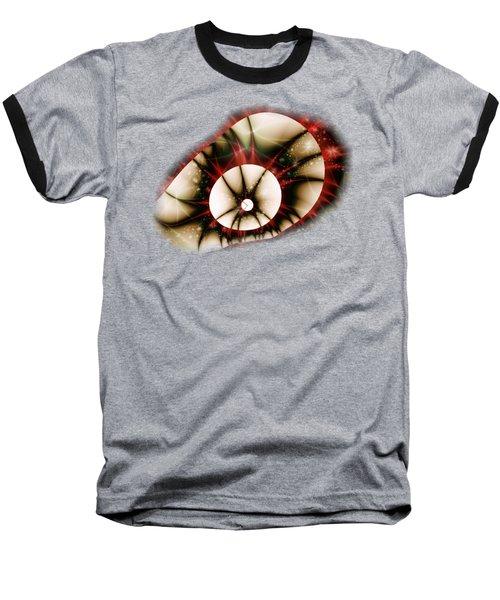 Dragon Eye Baseball T-Shirt by Anastasiya Malakhova