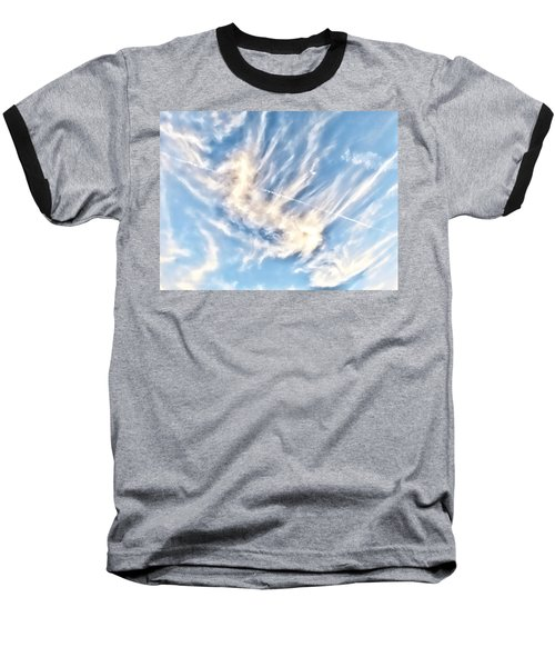 Dragon In The Flight Path Baseball T-Shirt
