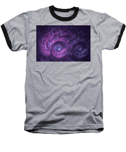 Dragon Nebula Reloaded Baseball T-Shirt