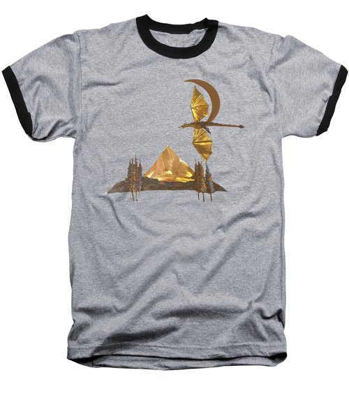 Dragon Of The Hood Baseball T-Shirt