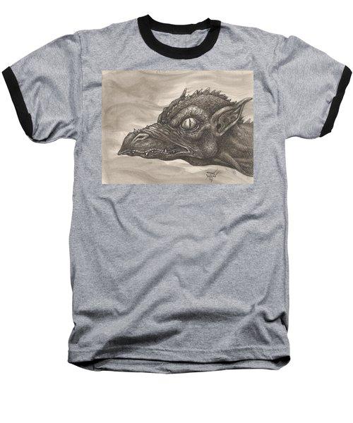 Dragon Portrait No. 2 Baseball T-Shirt