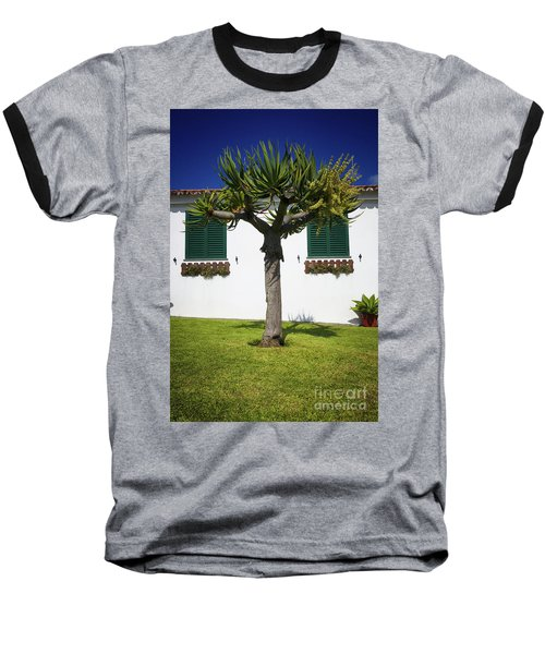 Dragon Tree Garden House Baseball T-Shirt