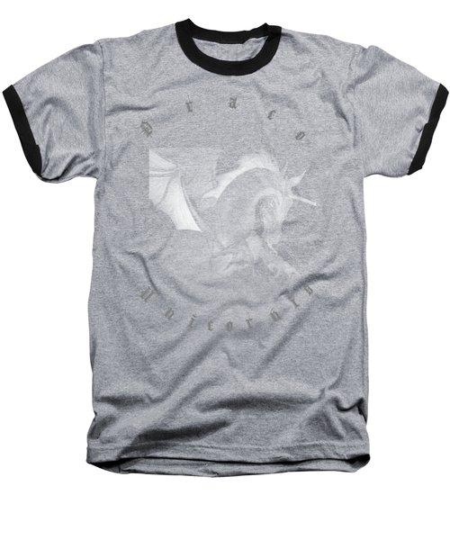 Baseball T-Shirt featuring the digital art Dragon Unicorn  by Robert G Kernodle