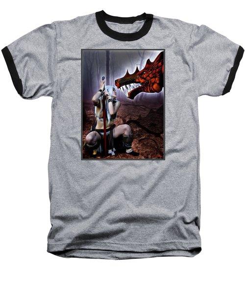 Dragon Whisperer Baseball T-Shirt