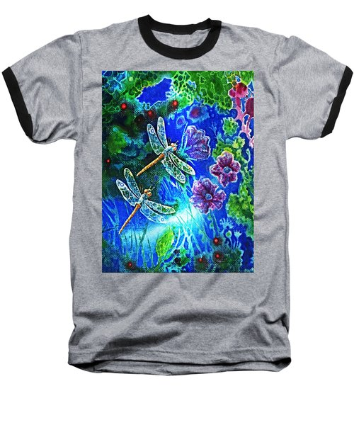 Dragonflies Baseball T-Shirt