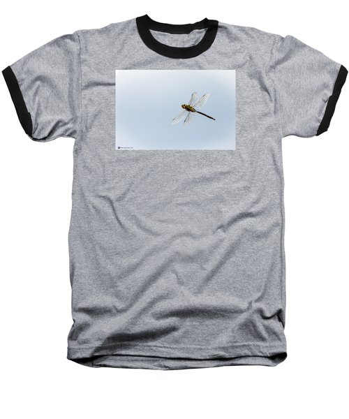 Dragonfly In Flight Baseball T-Shirt