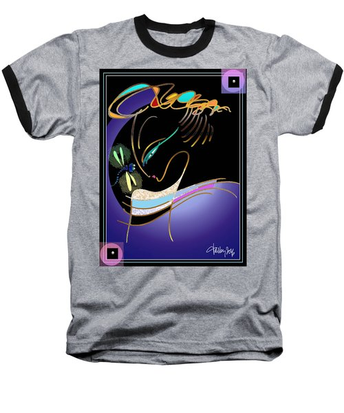 Dragonfly Messenger Baseball T-Shirt