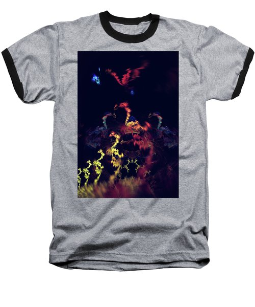Dragons - Abstract Fantasy Art Baseball T-Shirt