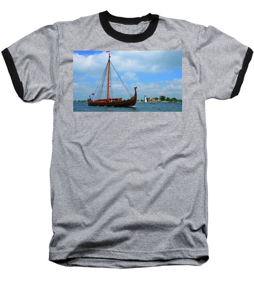 The Draken Passing Rock Island Baseball T-Shirt