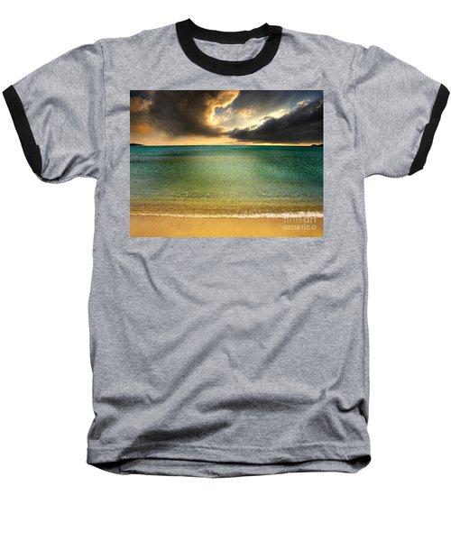 Drama At The Beach Baseball T-Shirt
