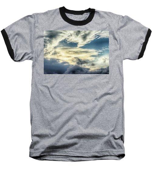 Drama Clouds Baseball T-Shirt