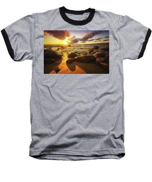 Drama On The Horizon Baseball T-Shirt