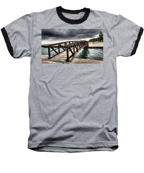 Dramatic Bridge Baseball T-Shirt
