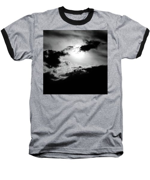 Dramatic Clouds Baseball T-Shirt