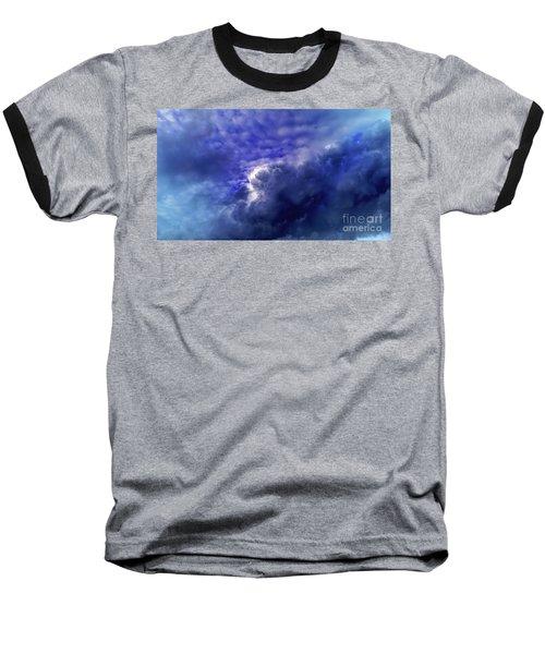 Dramatic Cumulus Sky Baseball T-Shirt