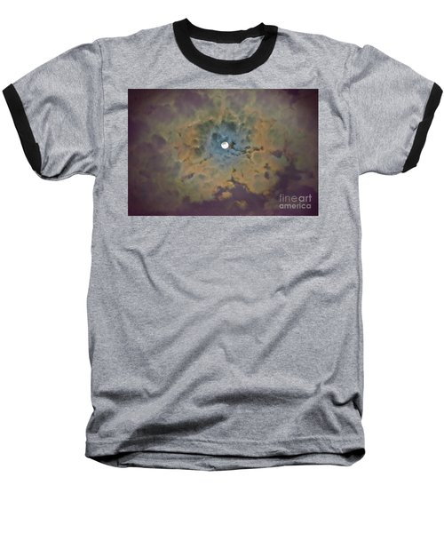 Dramatic Sky Baseball T-Shirt