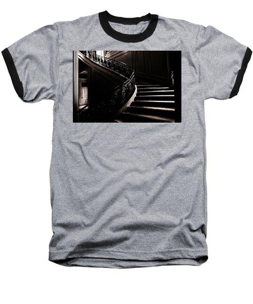 Dramatic Stairway Scene  Baseball T-Shirt