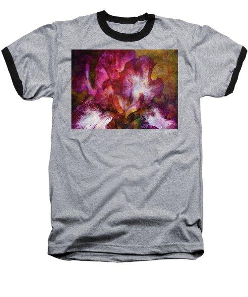Dramatic White And Purple 0273 Idp_2 Baseball T-Shirt