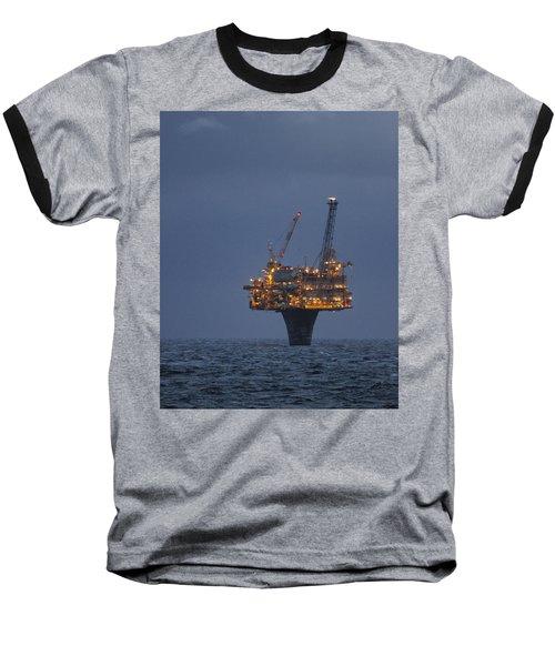 Draugen Platform Baseball T-Shirt