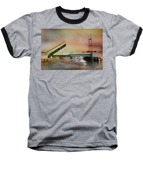 Draw Bridge Baseball T-Shirt