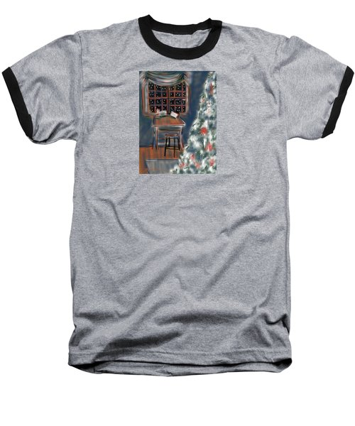 Drawing Board At Christmas Baseball T-Shirt