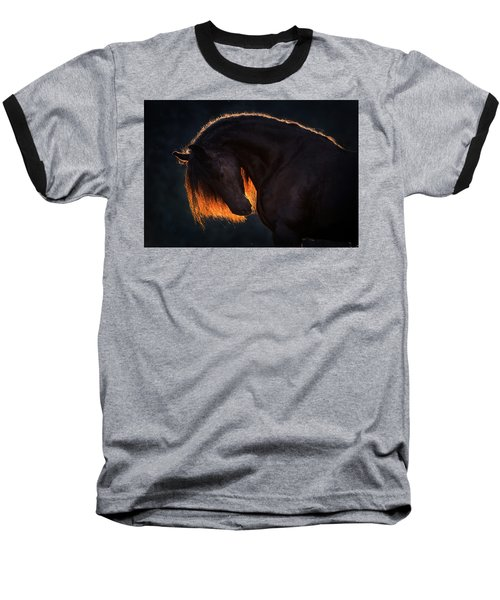 Drawn From The Darkness Baseball T-Shirt