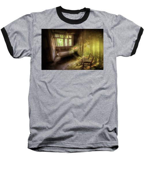 Baseball T-Shirt featuring the digital art Dream Bathtime by Nathan Wright