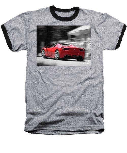 Dream Car Baseball T-Shirt by Susan Lafleur