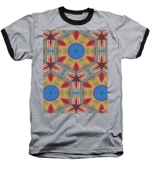 Dream Catcher IIi Baseball T-Shirt by Maria Watt
