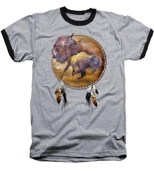 Dream Catcher - Spirit Of The Brown Buffalo Baseball T-Shirt