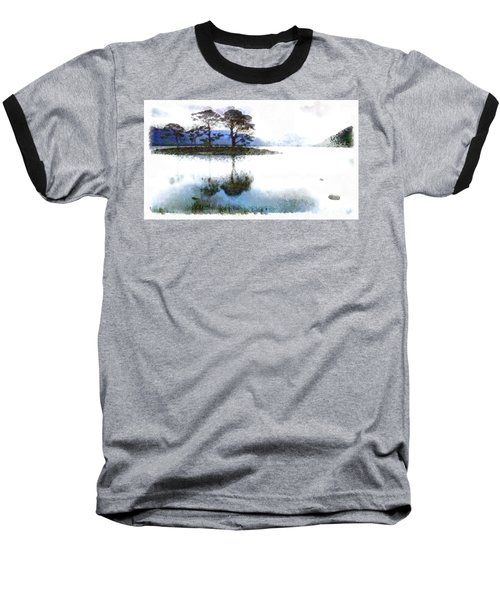 Dream Island Baseball T-Shirt by Mario Carini