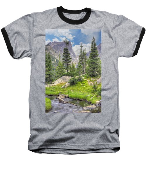 Dream Lake Baseball T-Shirt by Juli Scalzi