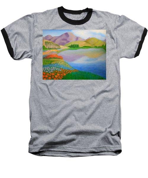 Dream Land Baseball T-Shirt by Sheri Keith