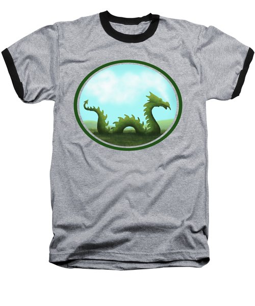 Dream Of A Dragon Baseball T-Shirt by Little Bunny Sunshine