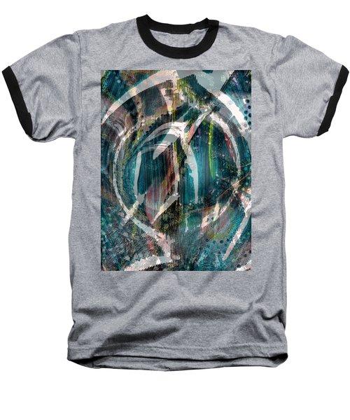 Dimension In Space Baseball T-Shirt by Yul Olaivar