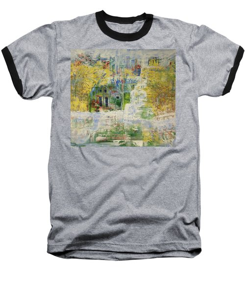 Baseball T-Shirt featuring the painting Dream Of Dreams. by Sima Amid Wewetzer
