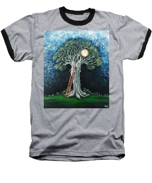 Dream Of The Clock Baseball T-Shirt