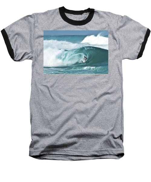 Dream Surf Baseball T-Shirt by Steven Sparks