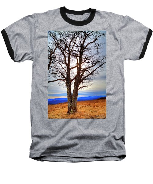Dreamcatcher Baseball T-Shirt by Dale R Carlson