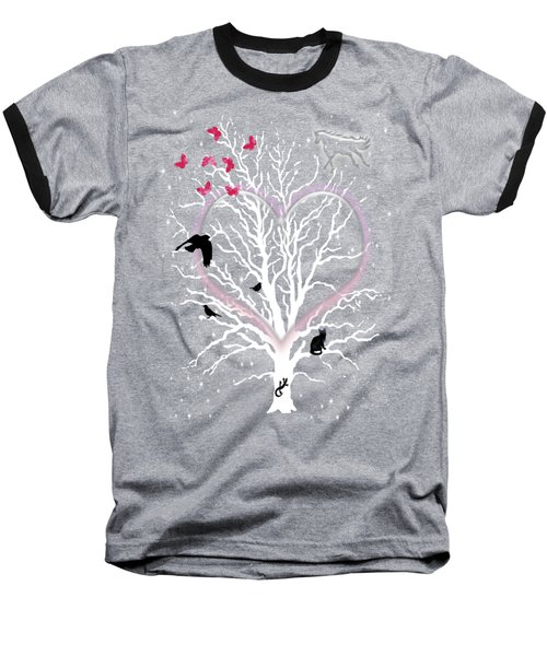 Dreamcatcher Tree Baseball T-Shirt