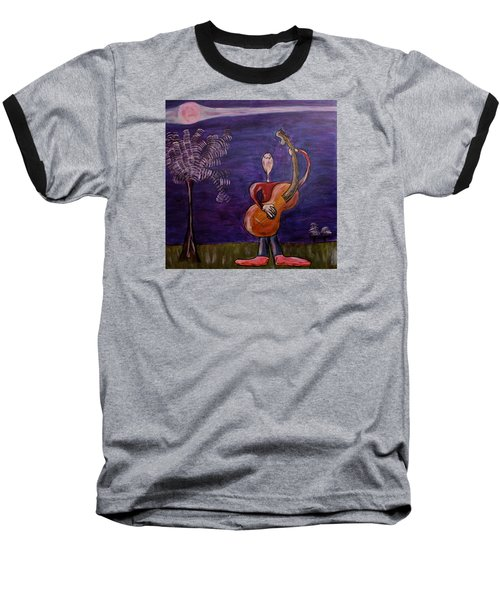 Baseball T-Shirt featuring the painting Dreamers 13-001 by Mario Perron