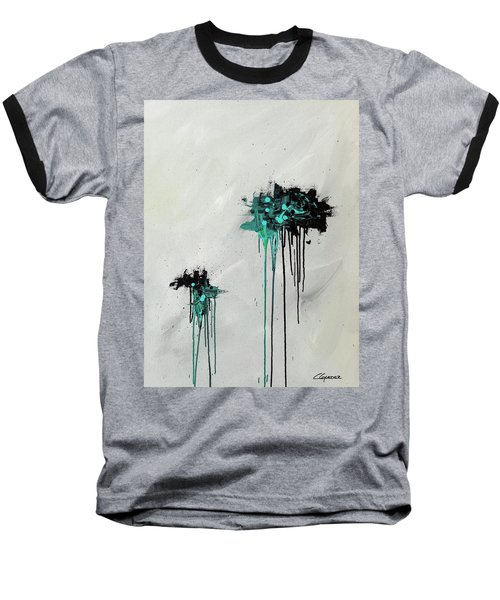 Baseball T-Shirt featuring the painting Dreamers by Carmen Guedez