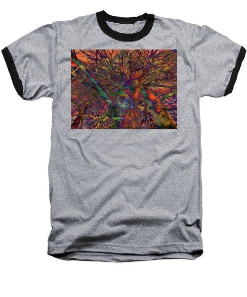 Baseball T-Shirt featuring the digital art Dreamers by Robert Orinski