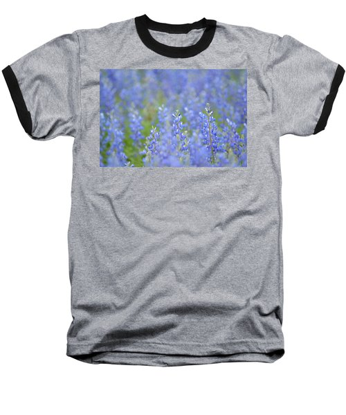 Baseball T-Shirt featuring the photograph Dreaming Bluebonnets 1 by Carolina Liechtenstein
