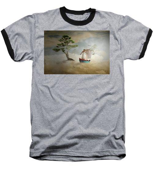 Dreaming High Baseball T-Shirt by Nathan Wright