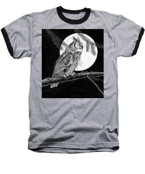 Dreaming Of The Night Baseball T-Shirt