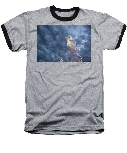 Dreaming Of The Sky Baseball T-Shirt
