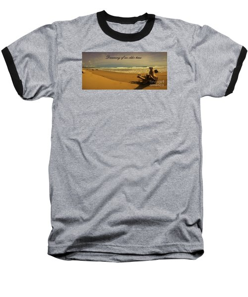 Baseball T-Shirt featuring the photograph Dreaming by Pamela Blizzard