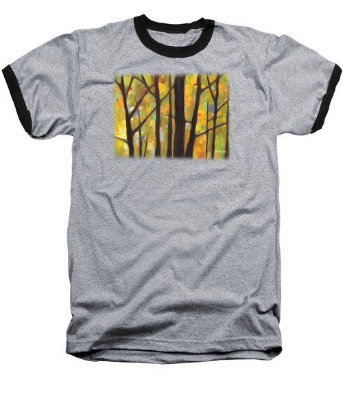 Dreaming Trees 1 Baseball T-Shirt by Hailey E Herrera