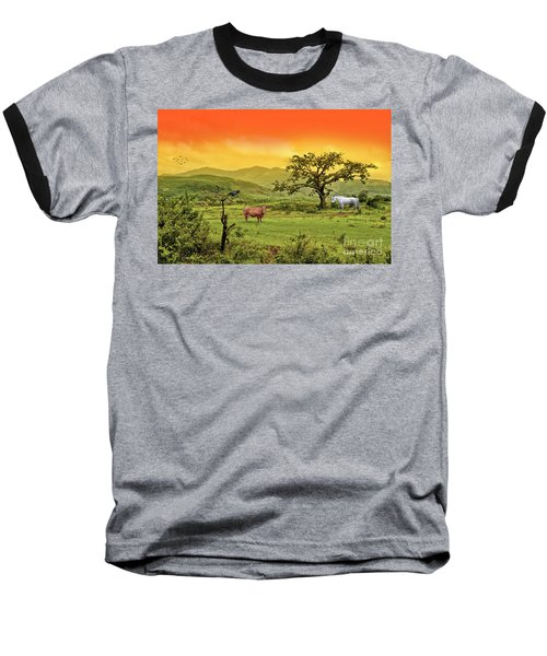 Baseball T-Shirt featuring the photograph Dreamland by Charuhas Images